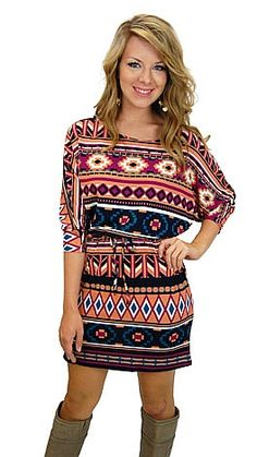 Such a fun and cute dress..... You would never know it is made out of fleece! Hmmm comfy dress? yes please!