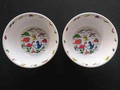 Antique Bowl Bavaria R C W Babes Playing Ceramic Bowl Rare Fashionable Patterns Cups, Dishes & Utensils