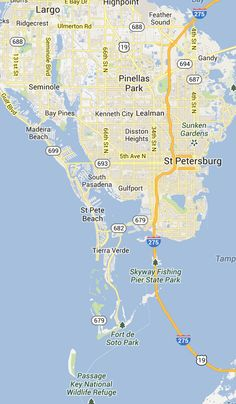 St. Pete Beach and Pass-a-Grille Florida   St Petersburg Clearwater, FL Beach Vacations