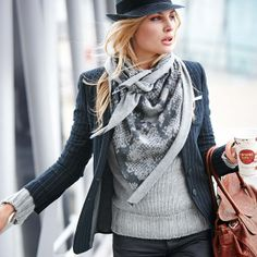 PFR Design Inspired Living loves this classy yet casual look for fall.