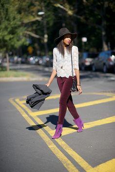 I really, really want velvet leggings and pants.