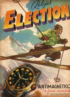 1944 Election Watch ad ‹ Strickland Vintage Watches