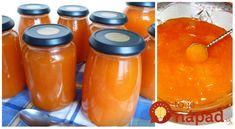 Žiaden želírovací cukor ani chémia: Neprekonateľný recept na marhuľový džem podľa prababky! Home Canning, Russian Recipes, Preserves, Pickles, Ham, Cantaloupe, Jelly, Salsa, Mason Jars