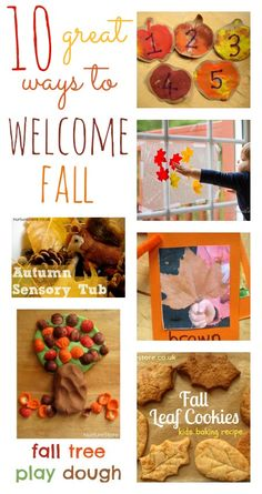 10 great ways to welcome fall - love these ideas!