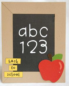 Back to School Card -