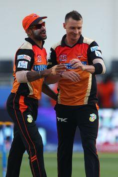 Dale Steyn dismissed Dinesh Karthik and Kevin Pietersen with successive deliveries, Sunrisers Hyderabad v Delhi Daredevils, IPL 2014, Dubai, April 25, 2014