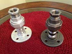 Candle Holder #PlumbingPipe #CandlestickHolder plumbingpipehomedecorations.com .com