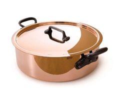 Mauviel 6506.03 11-in Round M'250c Rondeau w/ 6.5-qt Capacity & Cast Iron Handles, Lid, Copper, Each Mauviel 6506.03 11-in Round M'250c Rondeau w/ 6.5-qt Capacity & Cast Iron Handles, Lid, Copper.  #Mauviel #Kitchen