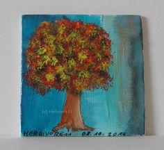 EIN KLEINER BAUM von Herbivore11 Bäume Minibild Bild Effektfarbe Inchie Kunst