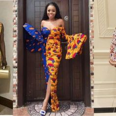 The above Ankara aso ebi styles are most certainly simple and yet classic. Simplicity definitely adds zest to a look, anybody can