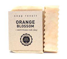 50% off Sale: Organic Orange Blossom Soap, Cold Process Soap, organic soap, all natural soap