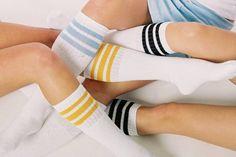 USA made Striped Tube Socks