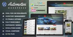 Download and review of Automotive Car Dealership Business WordPress Theme, one of the best Themeforest Corporative themes