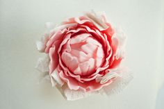 IMG_6080_edited-2 Peony Cake, Fondant Flower Cake, Fondant Bow, Fondant Cakes, Fondant Rose Tutorial, Fondant Figures Tutorial, Flower Tutorial, Cake Tutorial, Sugar Paste Flowers
