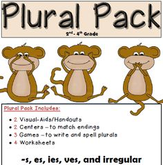 Teacher's Take-Out: Plural Pack