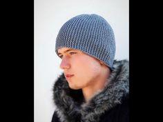 Como tejer Gorra Espiral Crochet - YouTube
