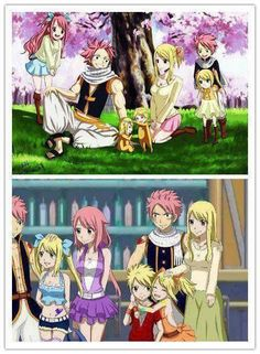 Even though I don't ship NaLu, this is still so adorable!