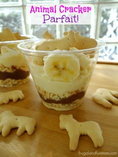 Animal Cracker Parfait Recipe! An Easy Dessert Creation for A Snack Or Party!