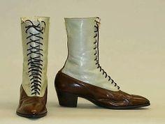 El Armario de Lady Marlo: Botas victorianas. Victorians boots.