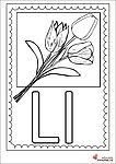 Litera L -Planșă de colorat Bobby Pins, Hair Accessories, Full Bed Loft, Hairpin, Hair Accessory, Hair Pins