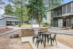 Grill up some grub and enjoy a meal outside in our Grill Area. #Amenities #AZ #Apartments #ReNewFlagstaff #IAmRenewed