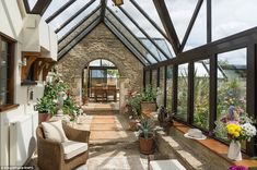 The property was formerly a row of two cottages and a stable until the estate manager and architect for the local country squire spotted the potential to convert them into a small manor house
