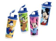 Tupperware | Disney Fun-tastic Friends Tumblers.  I think these are for kids but I love Disney and a friend gave me a set. I love them! Super cute and the quality you expect from Tupperware!