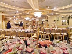 Pink and silver everywhere for this fundraising event at Grand Marquis.