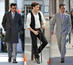 Sigh. Chuck fashion at its finest.