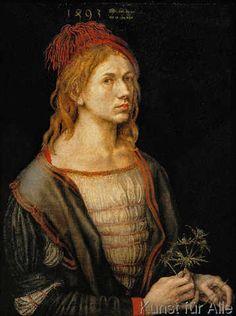 Albrecht Dürer - Dürer, Selbstbildnis 1493