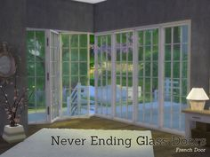 Lana CC Finds - Created By Angela Never Ending Glass Door Buildset...