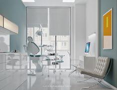 dental clinic, digital art , interior design, minimalist style, visualization – Top Of The World Dental Office Decor, Medical Office Design, Clinic Interior Design, Clinic Design, Waiting Room Design, Dentist Clinic, Cabinet Medical, Dental Design, Hospital Design