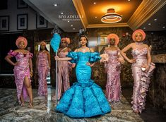 Cherrie and Ayo's traditional wedding was perfect blend of the Efik and Yoruba cultures. reception was a lituation Nigerian Traditional Wedding, Traditional Wedding Attire, Nigerian Bride, Nigerian Weddings, African Weddings, African Wedding Attire, Yoruba Wedding, Pakistani Wedding Dresses, Wedding Hijab