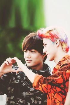 Sehun and Kai #exo