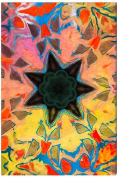 Helens Star (l'étoile d'Hélène) - Art Abstrait Contemporain - Abstract Contemporay Art