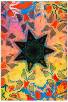 Helens Star (l'étoile d'Hélène) - Art Abstrait Contemporain - Abstract Contemporay Art