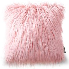 Phantoscope Decorative New Luxury Series Merino Style Multiple Color Beige Fur Throw Pillow Case Cushion Cover x Colorful Throw Pillows, Fur Throw Pillows, Throw Pillow Cases, Decorative Throw Pillows, Fur Pillow, Faux Fur Material, Pink Faux Fur, Pink And Gold, Cushions