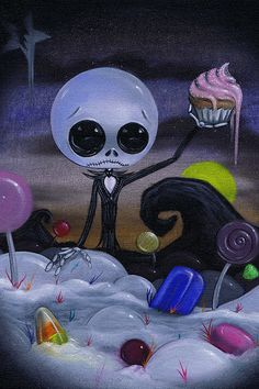 Dark art: Nightmare in Candyland