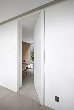 Need help you're your doors! Visit me at www.me Modern Interior Barn Doors Sliding Wardrobe Doors, Sliding Wall, Sliding Doors, Closet Doors, Front Doors, Hidden Doors In Walls, Inside Doors, Door Design, House Design