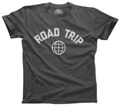 Men's Road Trip T-Shirt Retro Athletic Travel