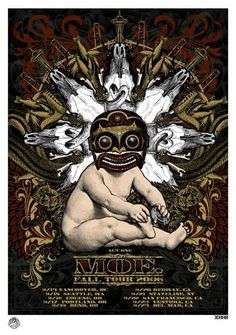 2006 moe. Fall Tour Poster Act One