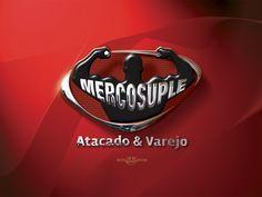 Logotipo criado pela Ópera para a MercoSuple - Loja de Suplementos Alimentares - de Santo André | SP.