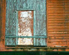 Industrial Photography, Railroad Photography, Color, Train, Train Car, Abandoned, Deteriorated, Home Decor, Office Decor