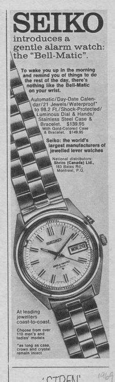 Seiko 4006 ad2 Seiko Automatic, Stainless Steel Case, Cool Watches, Bracelet Watch, Jewels, Accessories, Vintage, Jewerly, Vintage Comics