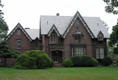 Gothic Victorian Style Houses | ... barnes house 1848 july 16th 2007 posted in gothic houses middletown
