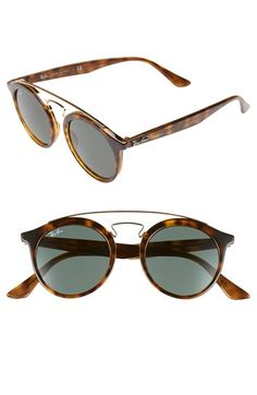 Ray-Ban 'Highstreet' 46mm Sunglasses available at #Nordstrom