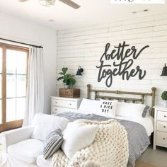 Farmhouse Master Bedroom, Modern Bedroom, Master Bathroom, Small Room Bedroom, Small Rooms, Bathroom Modern, Bed Room, Master Bedrooms, Rustic Bedrooms