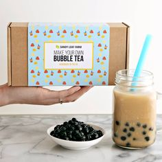 Are you interested in our Bubble Tea? With our Bubble Tea Kit you need look no further.