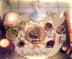 Faery Altar by ~GrailSidhe on deviantART - Pinned by The Mystic's Emporium on Etsy
