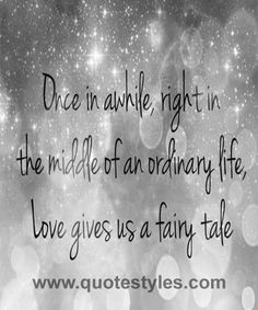 Once in a while- Love quotes